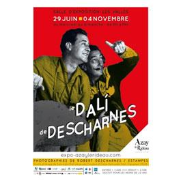 Exposition le Dali de Descharnes à Azay le Rideau