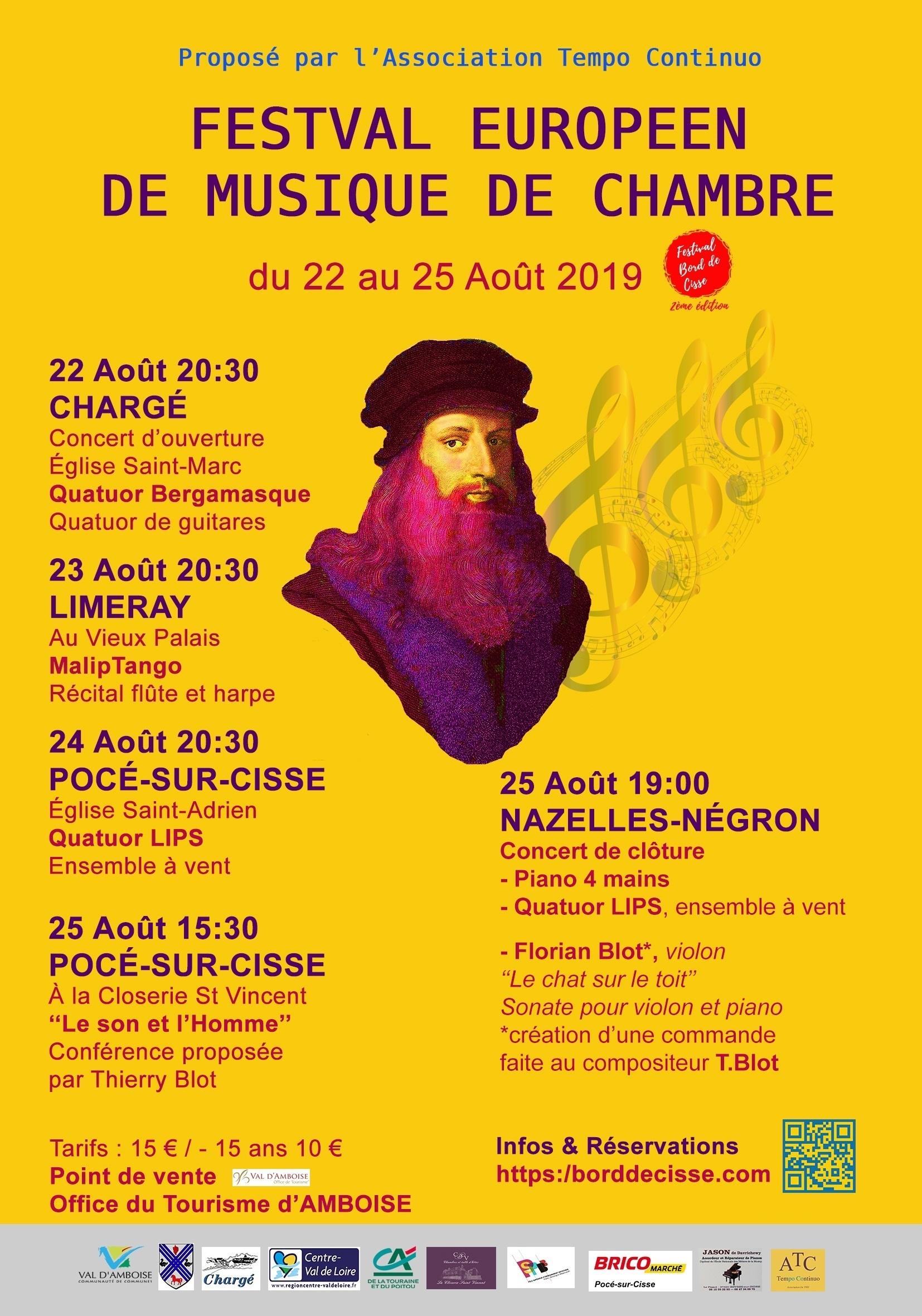 """Festival Européen """"Bord de Cisse"""""""