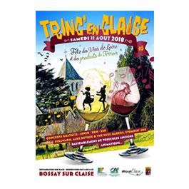 TRINC EN CLAISE : fête des Vins de la Loire  Samedi 11 Aout 2018