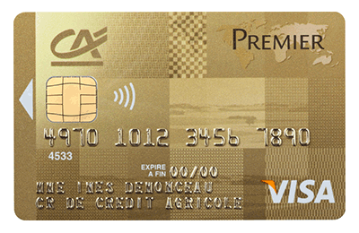 credit bank personnel visa premier retrait