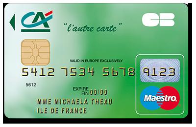 Crdit agricole touraine poitou l 39 autre carte - Plafond carte mastercard credit agricole ...