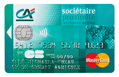 Carte Bleue Mastercard Credit Agricole.Credit Agricole Touraine Poitou Mastercard Societaire