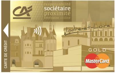 Crédit Agricole Touraine Poitou Carte Gold Mastercard Sociétaire